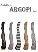 Argopi calze, Italia
